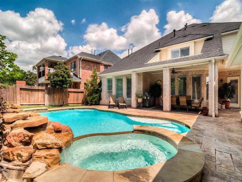 Gorgeous Home With Pool Spa 3906 Trailstone Katy Tx