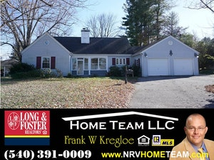 Radford Home, VA Real Estate Listing