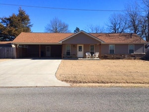 Krebs Home, OK Real Estate Listing