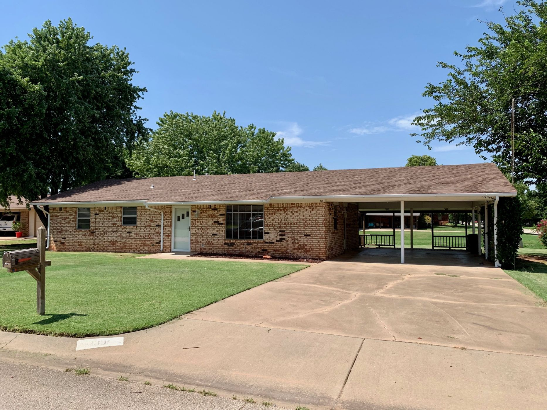 Perry Home, OK Real Estate Listing