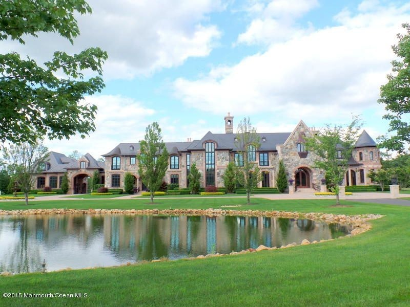French country chateau 86 montrose rd colts neck nj for French chateau style homes for sale