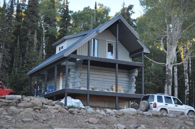 Log Cabin Manning Meadow Monroe Mountain Ut